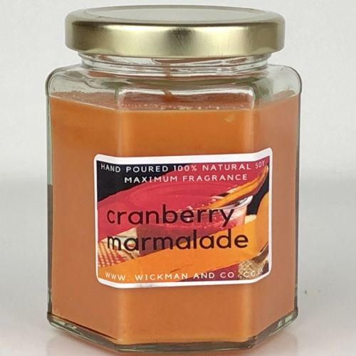 Cranberry Marmalade Soy Wax Candle